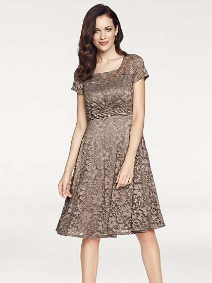 ASHLEY BROOKE by heine Čipkované šaty s romanticky hravým vzhľadom