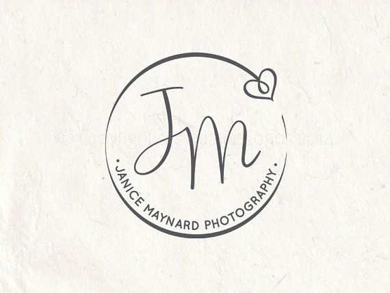 Photography logo  digital download  premade by PhotographyLogos