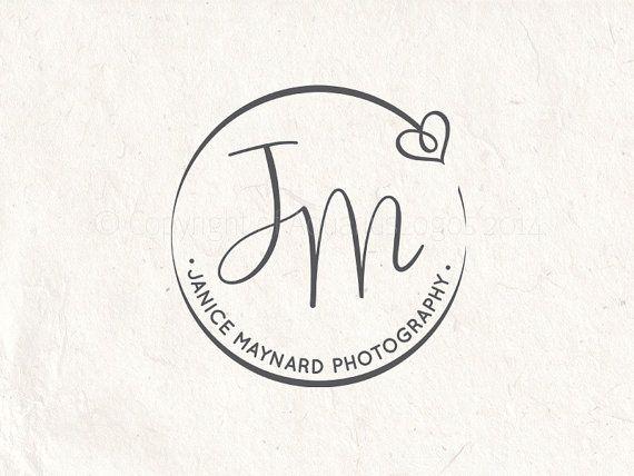 Photography logo - digital download - premade logo design