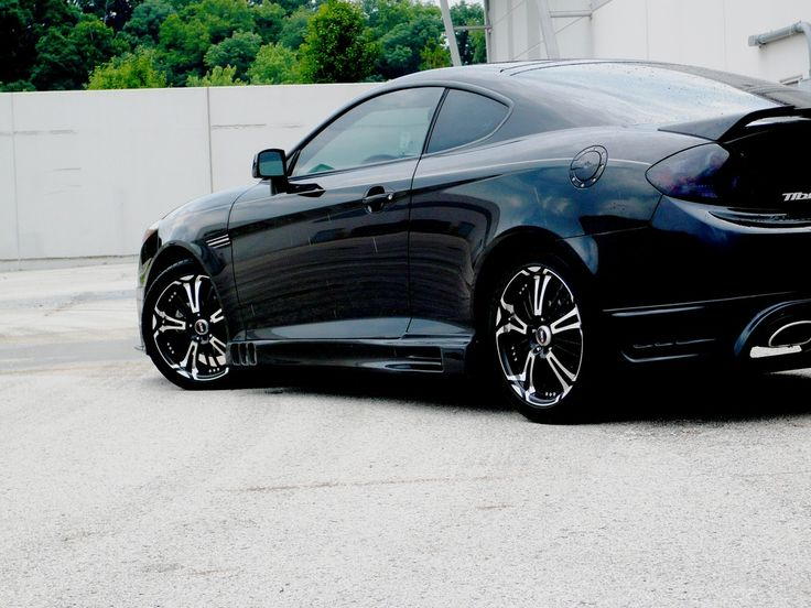 Project for Tiburon next summer. Time to save up. Love the body kit and rims.