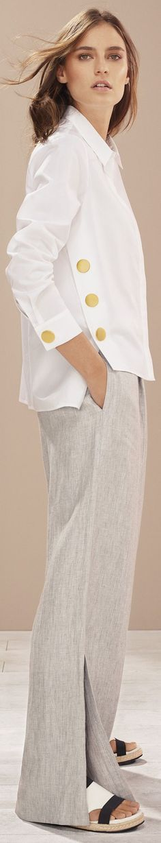 White is a beautiful color to base your cruise wardrobe around. jacket. read tips http://www.boomerinas.com/2017/02/26/3-easy-ways-to-put-together-cruise-vacation-wardrobes-tips-for-summer-travel-nautical-outfits/