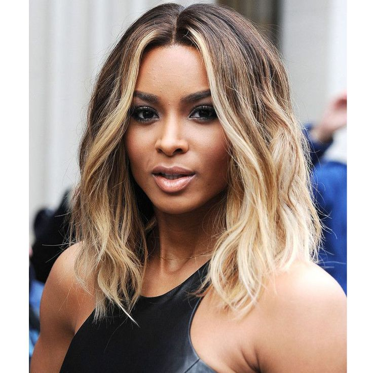 Celebrity Ciara Hairstyle Ombre Blonde Wig Short Pixie Wig Cheap African American Short Wigs For Black Women Lolita Wig Women * View the item in details by clicking the image