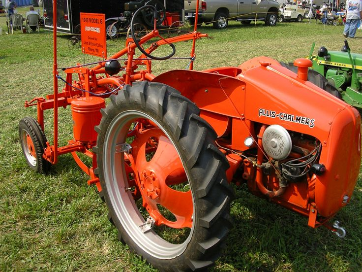 Allis Chalmers G Tractor : Best images about allis chalmers g on pinterest logos