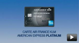 Carte Platinum Flying Blue AIR FRANCE KLM | Amex FR