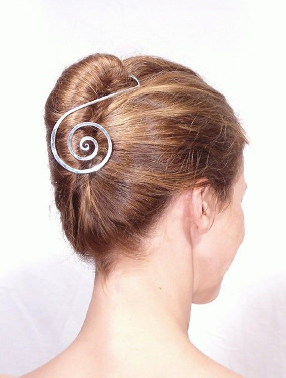 Haistick Hairslide Treble Clef In 2020 Haarstab French Twist Frisur Knoten