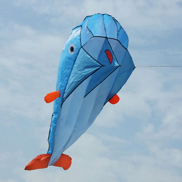 Giant Dolphin Parafoil Kite