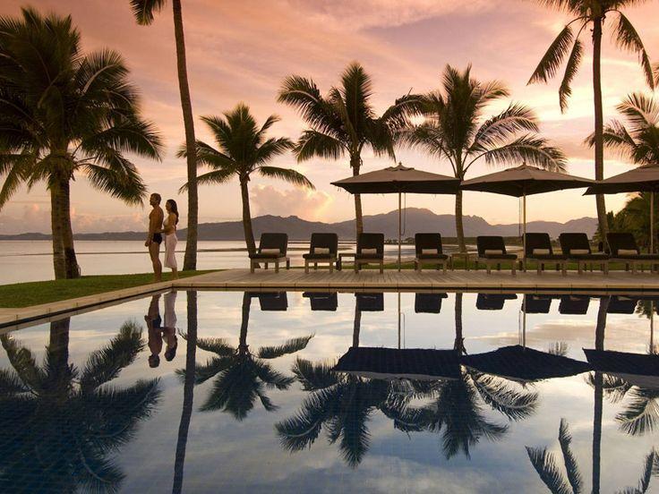 The perfect tropical escape. Fiji Beach Resort & Spa, Fiji  www.islandescapes.com.au