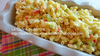 Ensalda de Coditos  (Elbows Salad)