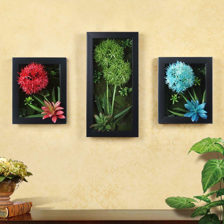 Купить товарБесплатная доставка Трехмерные Искусственные растения стены…