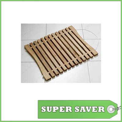 Walnut Wood Slatted Bath Duckboard Wooden Bathroom Mat Slats Pinterest And