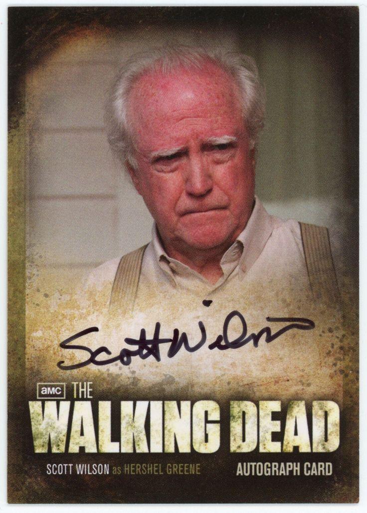 Hershel - The Walking Dead Trading Cards - Season 2
