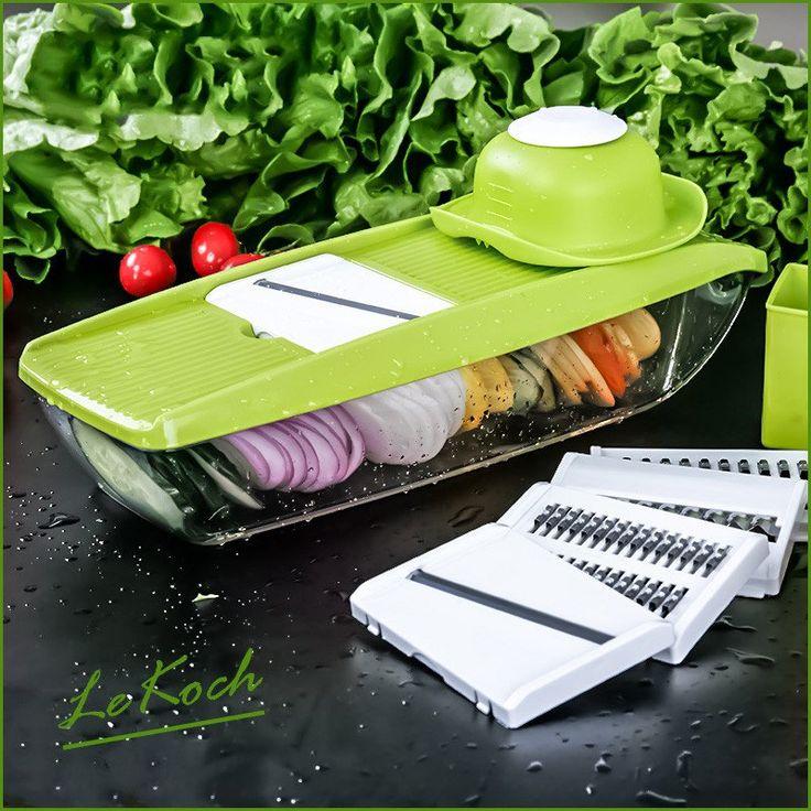 Adjustable Mandoline Slicer  #healthy #organicliving #organic #infusions #zapfoods.us #kitchen #useful #good #clean #home #decor #modern #nice #slicer #easy #cooking #fresh #fruit #vegetables