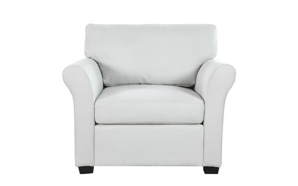 Fortunato Classic And Comfortable Linen Armchair Comfortable