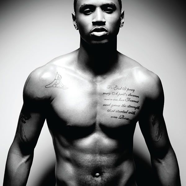 Trey Songz. love this cd and those abs. and tattoos. and everything. yummmmmy.