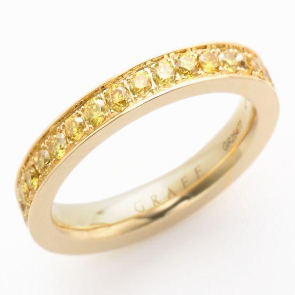 スレッドセッティング イエローダイヤモンド - GRAFF(グラフ)の結婚指輪(マリッジリング)結婚指輪・マリッジリングの「グラフ」の一覧♡