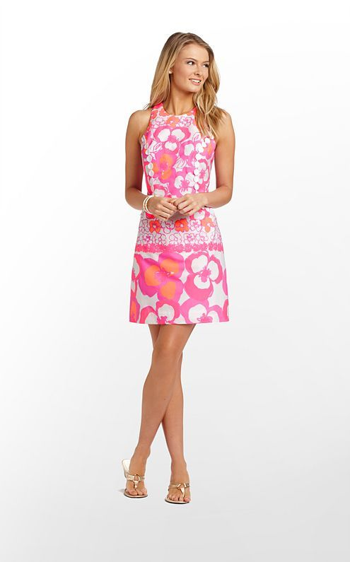 Lilly Pulitzer | Pearl Dress | I love this one, too! Why does she have so many cute dresses?!
