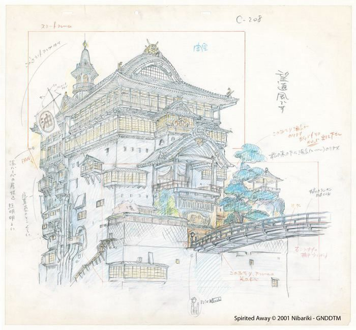 Character Design Layout : Best animation ghibli layout images on pinterest
