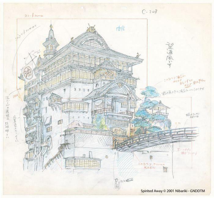 Exposition Studio Ghibli Layout Designs (Hong-Kong)