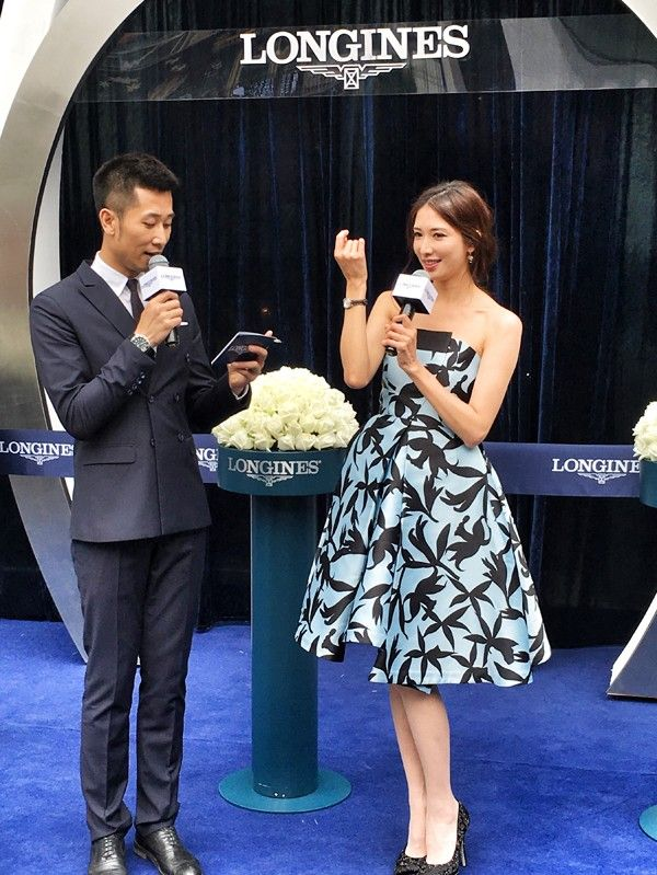 Lin Chi Ling Wearing Christopher Bu - Longines Product Launching Event - http://www.becauseiamfabulous.com/2016/04/28/lin-chi-ling-wearing-christopher-bu-longines-product-launching-event/