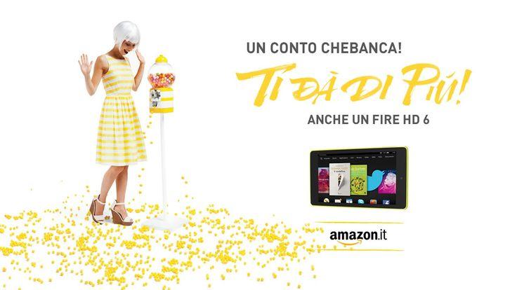 Campagna Conto Corrente 2015 - Un conto CheBanca! ti dà di più #spot
