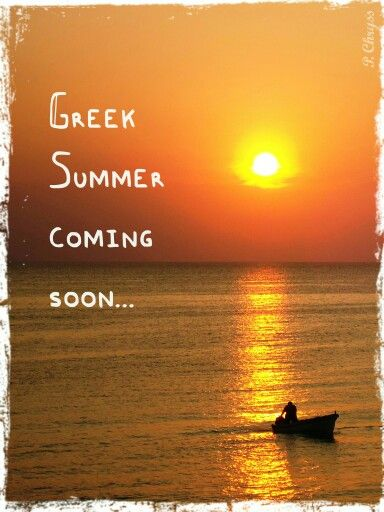 Greek summer 4ever! Have you planned your holidays in Greece yet?