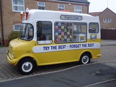 Preloved | bedford cf1 full cowl 1980 ice cream van for sale in Corby, Northants