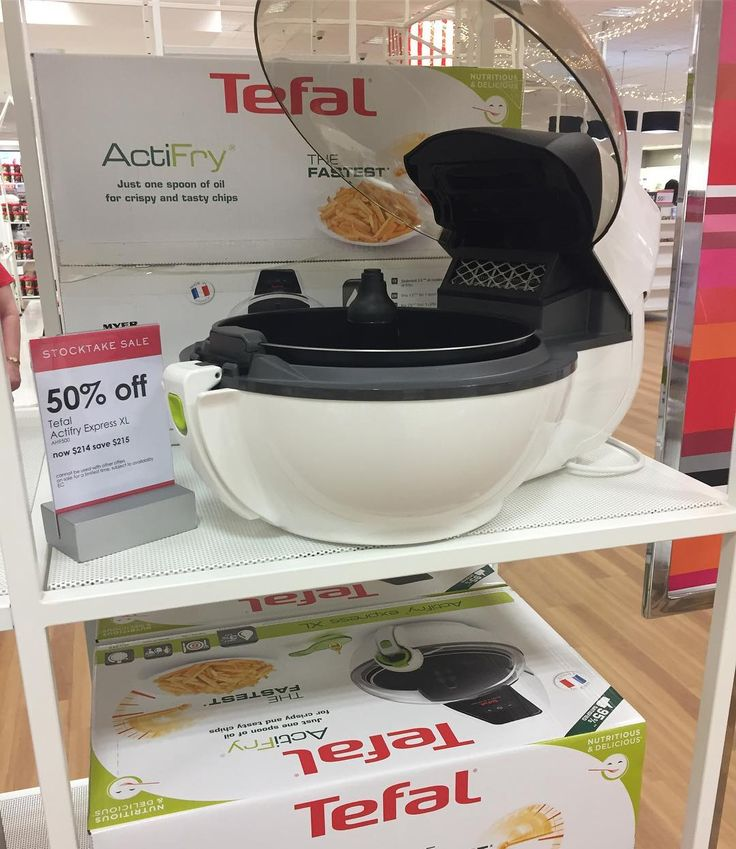 Do you love the taste of fried food but not the oil? The #Tefal #Actifry Express XL could be the answer. It's  is currently #halfprice at #Myer. #onsale until 29.1.17 #healthycooking