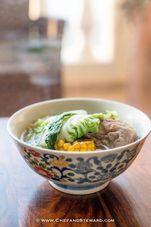 Authentic Bulalo Recipe - Filipino Beef Bone Marrow Soup. Great for slow cooker, pressure cooker or stock pot.   Tasty and easy and excellent for children and pregnant and lactating women.