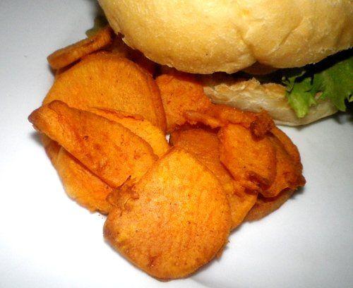 Sweet Potato Chips (Actifry) Recipe - Recipezazz.com