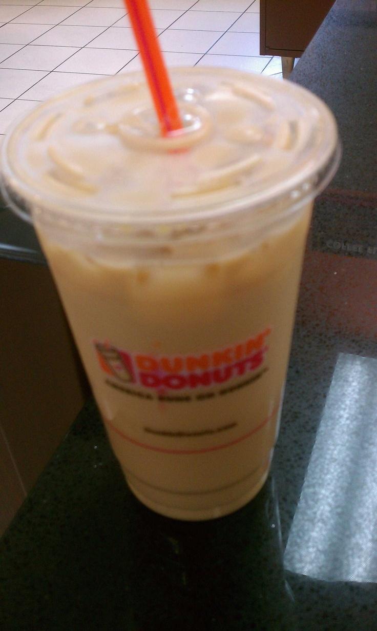 Dunkin donuts french vanilla iced coffee dunkin donuts