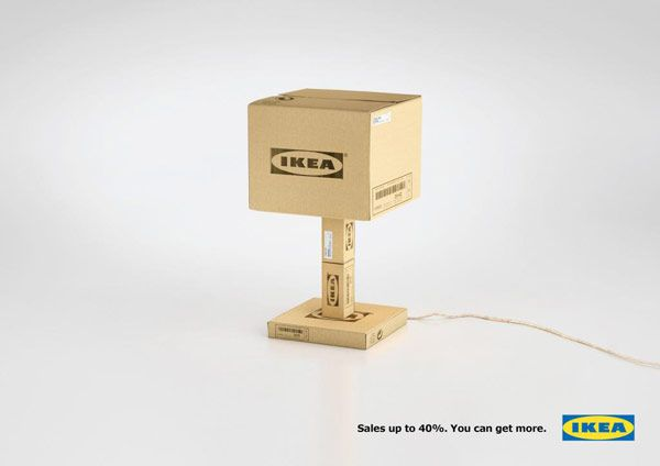 """Milan-based advertising agency AUGE HEADQUARTER created an advertising campaign for IKEA entitled """"You Can Get More"""""""