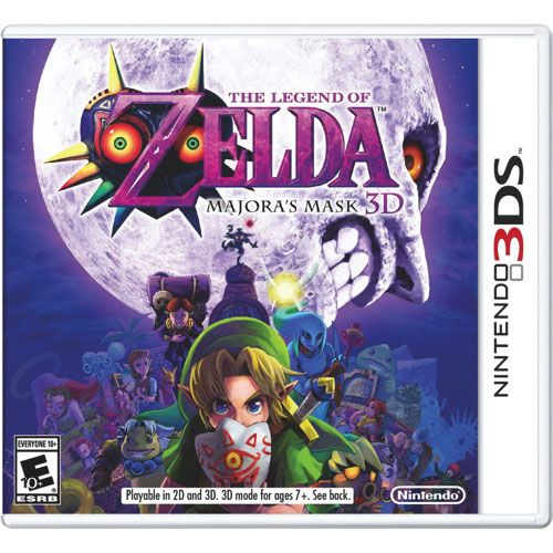 the legend of zelda majora s mask experience link s suspenseful intricate quest on a hand held device for the first time the legend of zelda majora s