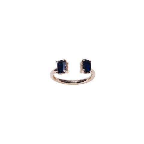 Tate Black Sapphire Ring - MIRLO