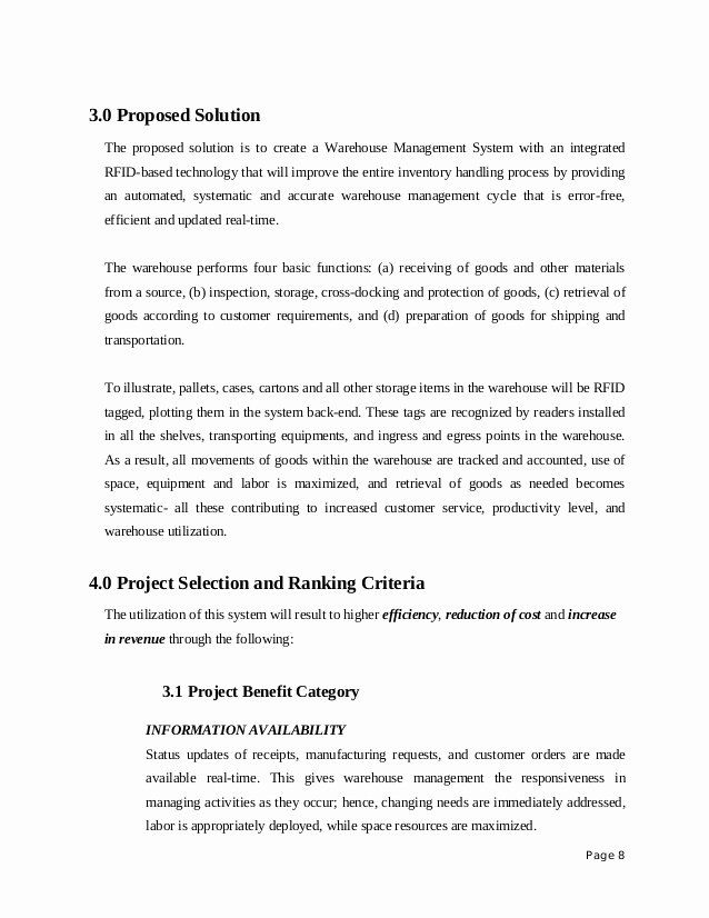 Information Technology Proposal Template In 2020 Proposal Templates