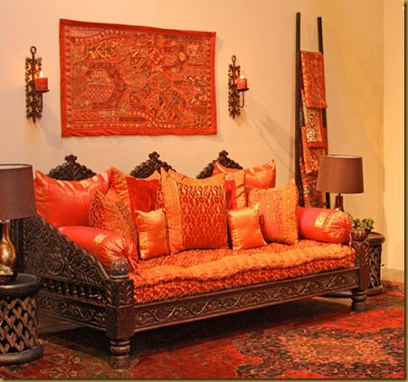 Indian Home Decor On Mogul Interior Designs Indian Inspired Ethnic .