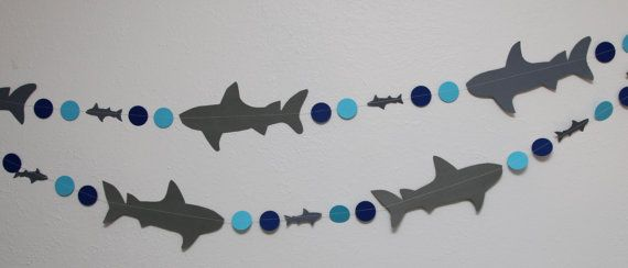 Shark Party Decoration Package