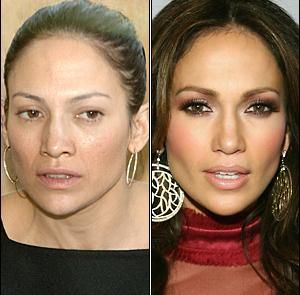 "Even the world's ""most beautiful woman"" isn't perfect.. before and after makeup http://www.marykay.ca/smcneely"