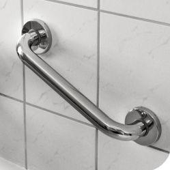 Etac Safe Haltegriff Edelstahl  Die aus Edelstahl gefertigten Safe Haltegriffe im schlichten, edlen Design von Etac bieten Ihnen ein hohes Maß an Sicherheit und zahlreiche Einsatzmöglichkeiten in Ihrem Bad und WC. Die Haltegriffe der Safe Serie unterstützen Sie sicher beim Ein- und Ausstieg der Badewanne oder Ihrer Dusche. Sollte das Hinsetzen und Aufstehen zur Benutzung der Toilette Ihnen schwer fallen, wird der Safe Haltegriff Ihnen hierbei hilfreich zur Seite stehn.