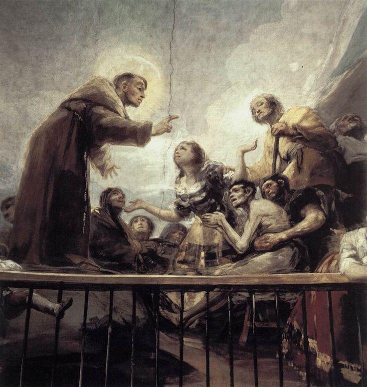 Francisco de Goya - The Miracle of St Anthony (detail) (Fresco, San Antonio de la Florida, Madrid, 1798)