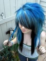 when is great haircut 20 best blue hair images on coloured hair 2732