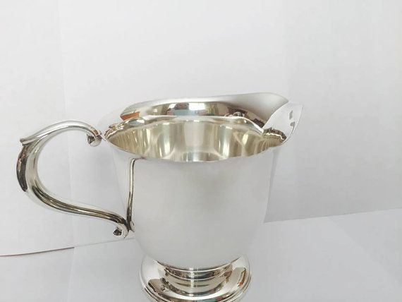 Vintage Sterling Silver Towle 750 Creamer Pitcher by CNAntiques