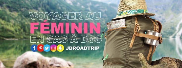 Tous les conseils pratiques pour voyager au féminin : voyager seule ou entre copines, matériel d'une voyageuse et sa communauté de filles qui voyagent.