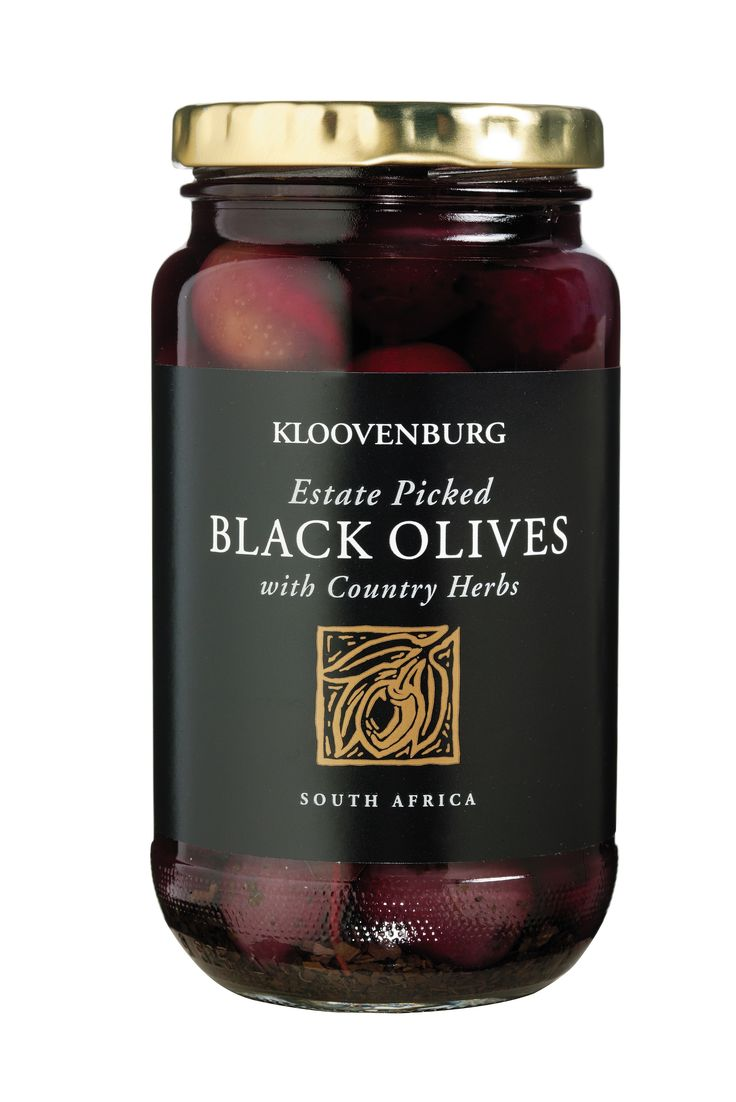 Kloovenburg Black Olives with Country Herbs