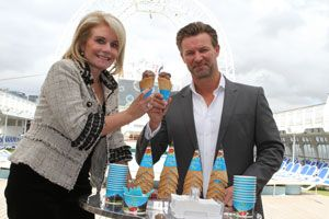 Email Print Add comments  Cruising Gets Sweeter with New P Cruises Ice Cream Flavour