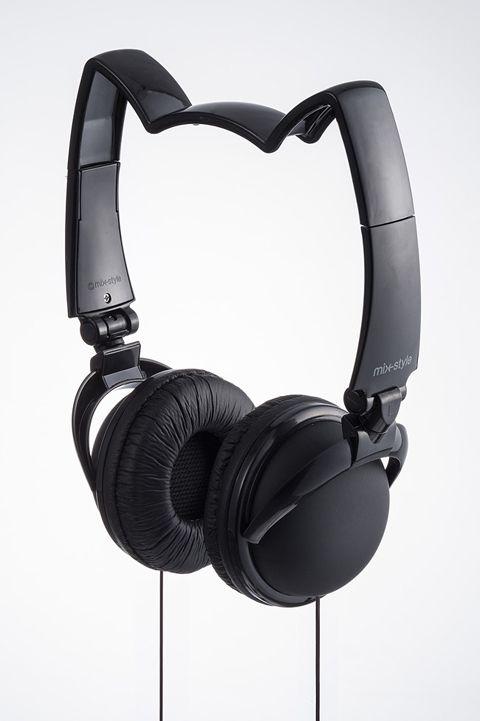CDJapan : mix-style NEKOMIMI Headphone / BK Black Collectible