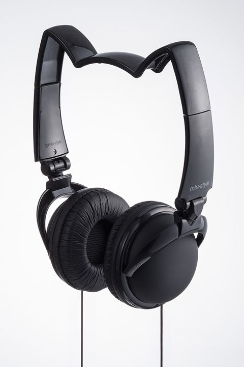 CDJapan : mix-style NEKOMIMI Headphone / BK Black Collectible