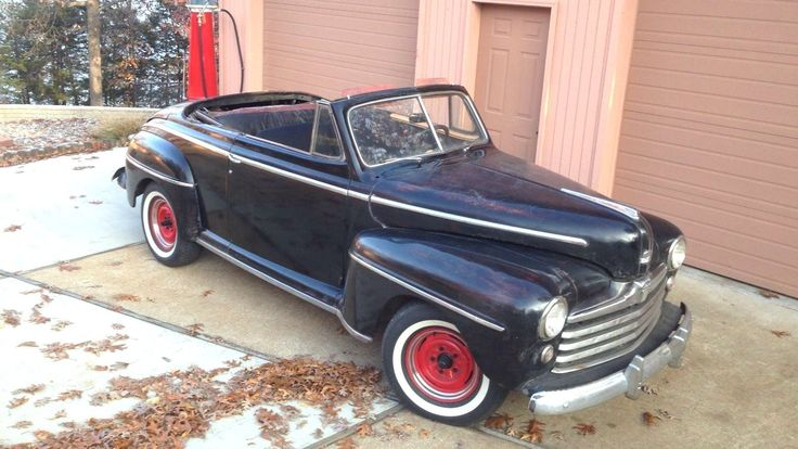 Biff Approved: 1948 Ford Super Deluxe Convertible - http://barnfinds.com/biff-approved-1948-ford-super-deluxe-convertible/