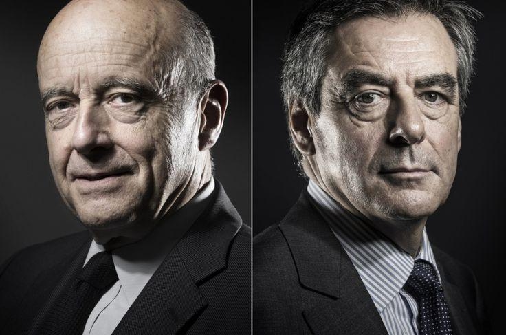 Alain Juppé et François Fillon seront départagés par le second tour de la primaire à droite.