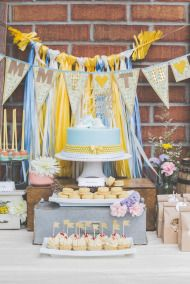 Whimsical Baby Shower: http://www.stylemepretty.com/living/2014/08/21/whimsical-baby-shower-2/ | Photography: Kayla Rocca - http://www.kaylarocca.com/