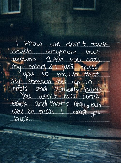 I Want You Back Quotes: You And I, Amor